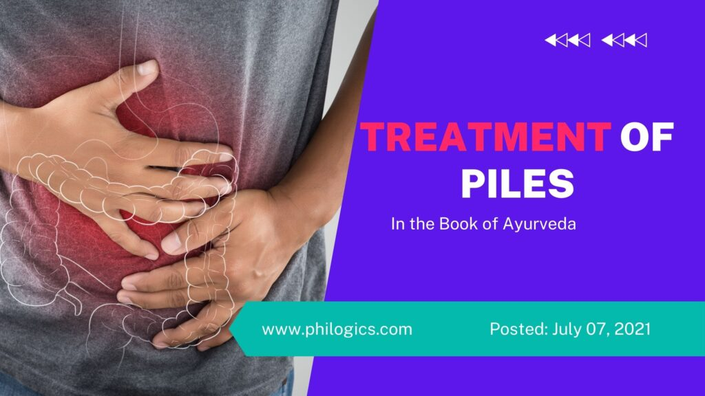 Treatment of Piles in the Book of Ayurveda